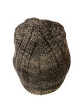 Knitted hat on white background Royalty Free Stock Photography