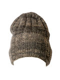 Knitted hat on white background Stock Photo