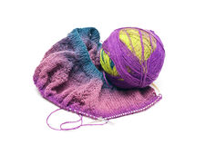 Knitted items Royalty Free Stock Photos
