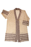 Knitted jacket Stock Image