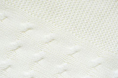 Knitted jersey fabric Stock Images