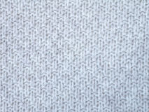 Knitted light gray cotton Stock Photos