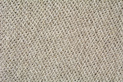 Knitted linen background Stock Images