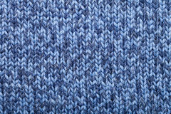 Knitted melange fabric cloth pattern Stock Image