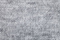 Knitted melange textile pattern Stock Photography
