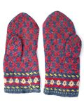 Knitted mitten3 Stock Photo