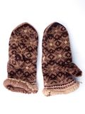 Knitted mitten4 Royalty Free Stock Photo
