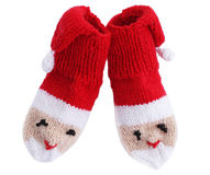 Knitted  noses Royalty Free Stock Images