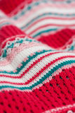 Knitted pattern Royalty Free Stock Photography