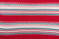 Knitted pattern Stock Photography