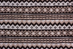 Knitted  pattern Royalty Free Stock Image