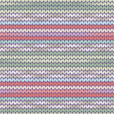 Knitted pattern light green pink Stock Photo