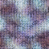 Knitted pattern with the melange effect Stock Images