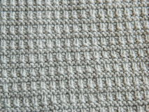Knitted pattern with needles Stock Photography