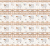 Knitted pattern with sheep Royalty Free Stock Photo