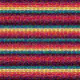 Knitted Pattern. Royalty Free Stock Images