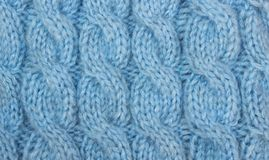 Knitted pattern texture Stock Images