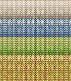 Knitted pattern 2x2 Royalty Free Stock Photography