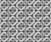 Knitted Ribbon weave background. Abstract retro fabric ornament. Stock Photography