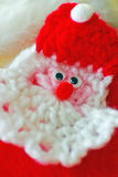 Knitted Santa Claus Royalty Free Stock Images