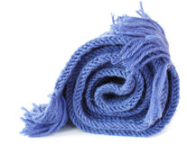 Knitted scarf Stock Photography