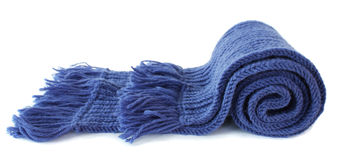 Knitted scarf Royalty Free Stock Image