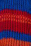 Knitted scarf detail Stock Photo