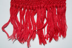 Knitted  scarf Stock Photos