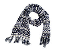 Knitted scarf Stock Photo