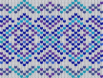 Knitted seamless pattern Royalty Free Stock Photo