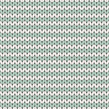 Knitted seamless pattern Royalty Free Stock Images