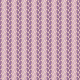 Knitted seamless pattern Stock Photo