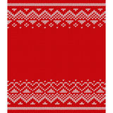 Knitted seamless pattern. Vector knitting texture. Royalty Free Stock Image