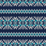 Knitted Seamless Pattern Stock Images