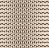 Knitted seamless pattern Stock Photos
