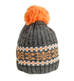 Knitted ski cap Royalty Free Stock Images
