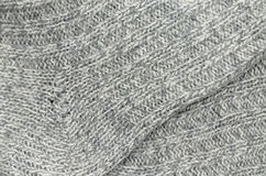 Knitted Socks, Detail Stock Image