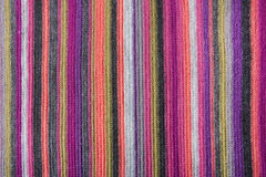 KNITTED STRIPED BACKGROUND Stock Photos