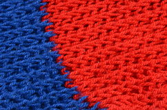 Knitted structure Stock Photography