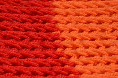 Knitted structure Stock Photo