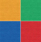 Knitted surface Stock Images