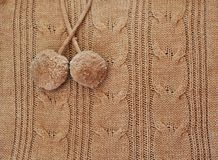 Knitted sweater close up Stock Photos