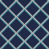 Knitted Sweater Design. Seamless Pattern Stock Photo