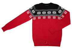 Knitted sweater Royalty Free Stock Images