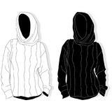Knitted sweater Isoleer beeld stock illustratie