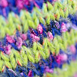 Knitted textile Royalty Free Stock Photo