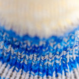 Knitted textile Stock Image