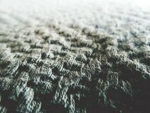 Knitted Textile Wool Fabric Abstract Background royalty free stock photo