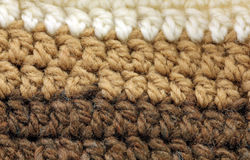 Knitted texture background close up Royalty Free Stock Images