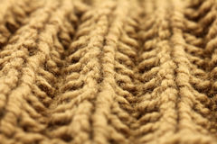 Knitted texture background close up Royalty Free Stock Photography